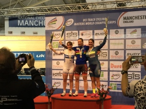Podium for 3rd